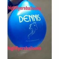 PVC Gas Printing Balloon