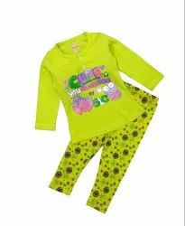 Baby Girl's Cute Top With Pant