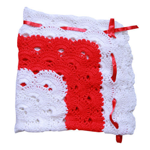 Gulnaaz Crochet Virus Baby Blanket Size 32 By 32 Inches Rs 800