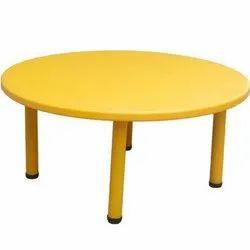 School Round Kids Table