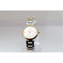 Golden And Silver Ladies Wrist Watch
