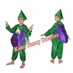 Kids Smiley Brinjal Costume