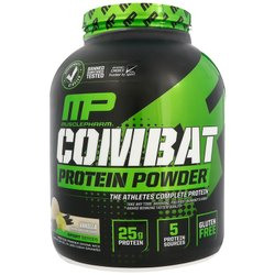 Muscle Pharm Combat  Vanilla Flavored Protein Powder