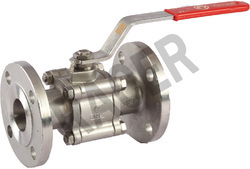 Flanged End Stainless Steel Ball Valve