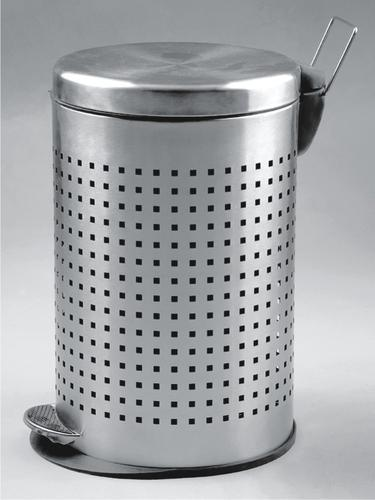 Ss Dustbin Paddle Perforated Bin Manufacturer From