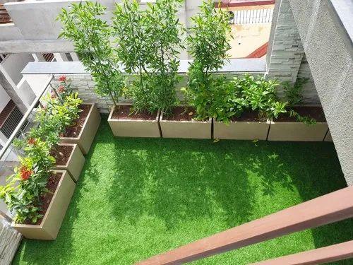 Residential Terrace Garden Designing in Makarba, Ahmedabad ...