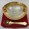 Gold Plated Bowl