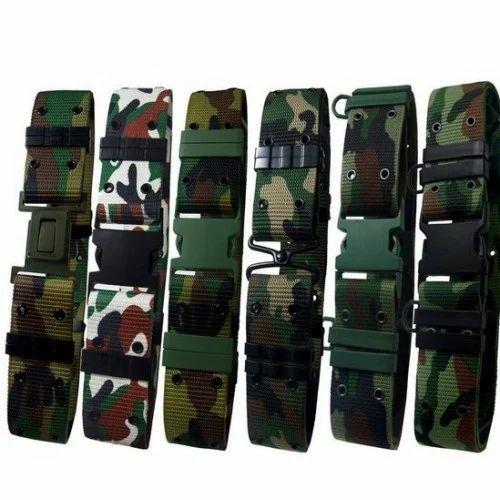 Printed Army Belts