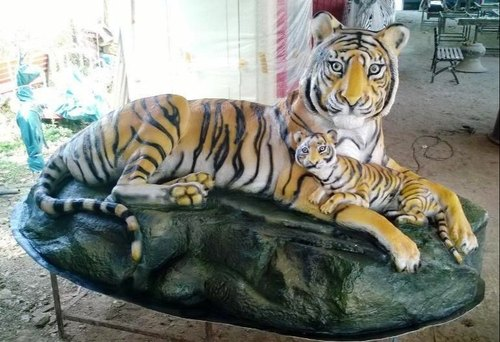 FRP Animals - FRP Lion Statue Manufacturer from Pune