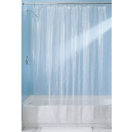 Interdesign Clear Rain Shower Curtain