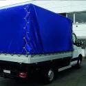 蓝色编织卡车篷布