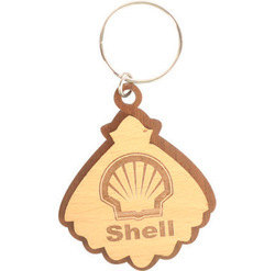 Wooden Promotional Keychains