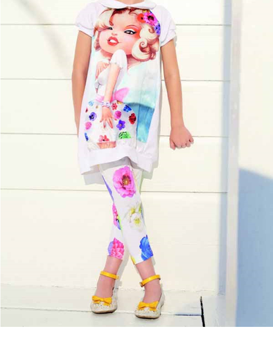 Casual And Formal Wear Printed Kids Trendy Cloths, Size: Small, Medium & Large