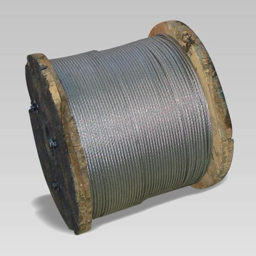 4mm Electro Galvanized Steel Rope at Rs 8 /meter   Galvanized Wire ...