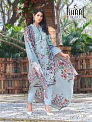 Ishal Prints By Gulmohar Vol 7 Pure Cotton Pakistani Dress