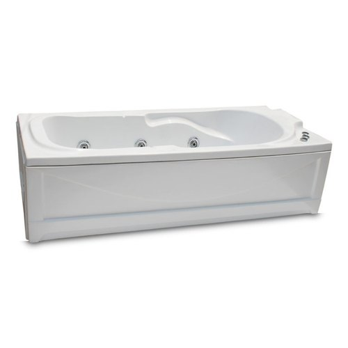 Zeotic Karlis 6x2.5x1.8 / 72x30x20 Single Person Massage Bubble Bath Fully Loaded Bathtub
