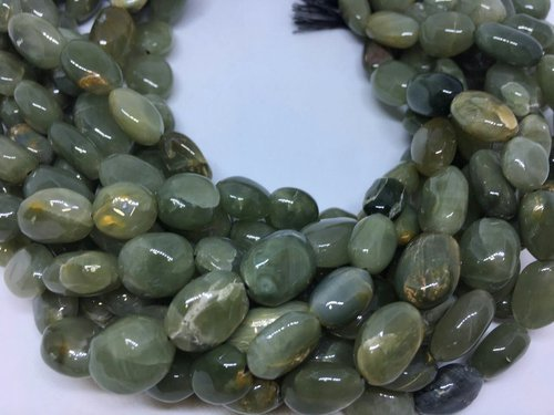 Natural Cats Eye Oval Nuggets Beads