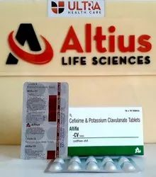 Cefixime 200 Mg Clavulanate 125 Mg Tablet