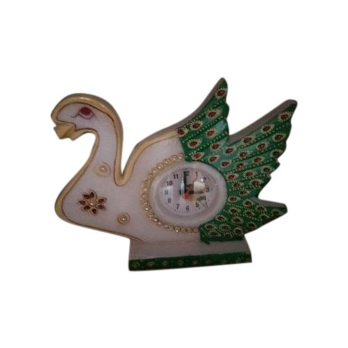 Marble Handicraft Table Clock