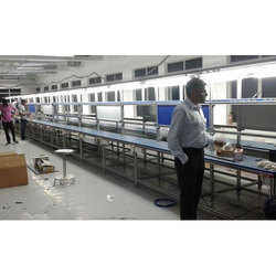 Stainless Steel Mobile Phone Assembly Line