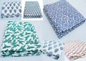 Printed Cotton Fabric, Gsm: 50-100