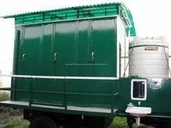6 Seater Bio Mobile Toilet Van