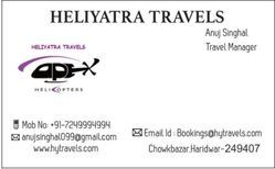 Char Dham Yatra Service
