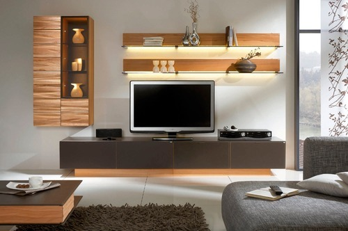 wall mtg led tv unit furniture at rs 15000 piece led tv id