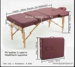 Supreme (Wooden Legs 3 Section Massage Table)