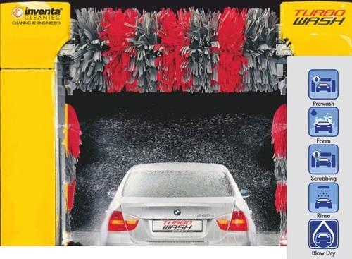 Turbo Wash Fully Automatic Car Washing System
