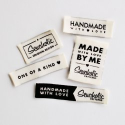 Printed Rectangular Woven Shirts Labels, for Garments