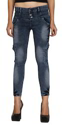 Zadine Chemical Torn Women Jeans