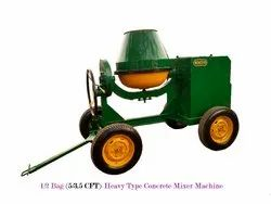 5/3.5 CFT Concrete Mixer Machine