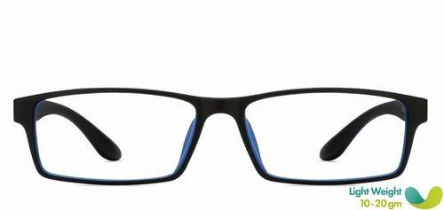 2aa65ccd76 Men Eyeglasses - Black Gunmetal Full Rim Rectangle Medium Eyeglasses  Retailer from New Delhi