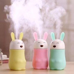 Lovely Bear Rabbit Shaped Humidifiers with LED Night