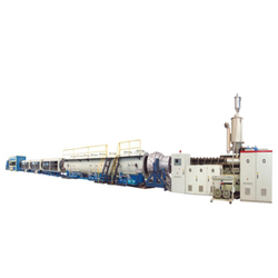 HDPE Water Gas Supply Pipe Production Line