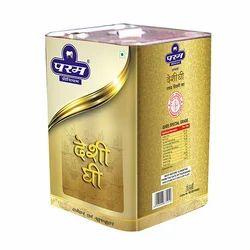 Param Desi Ghee, Packaging: Tin