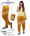 Mustered Patiala Pant