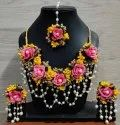 Multicolor Artificial Flower Jewellery