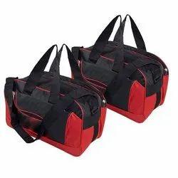 Multicolor Sanchi Creation Nylon Luggage Duffel Bag, For Travel