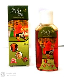 Rilif 50ml Pain Relief Oil, For Personal, Grade Standard: Medicine Grade