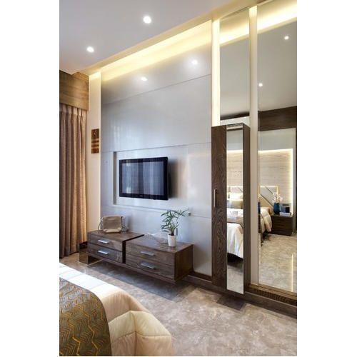 Wood 3-BHK Apartment Interiors Design, Rs 1500 /square