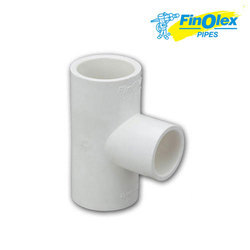 Finolex T- Fitting Female Threaded Tee, Size: 1/2 to 1 X 1/2 inch