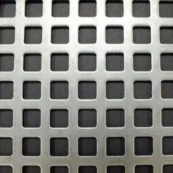 Square Hole GI Perforated Sheet