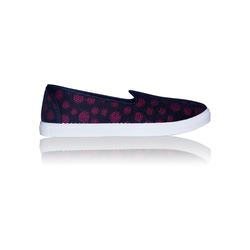 Namchee Ladies Printed Canvas Casual Shoes, Size: 3 to 9