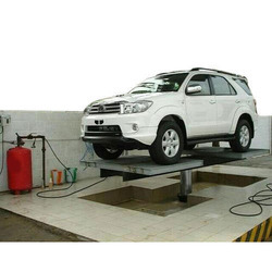 Hydraulic Car Washing Lift with Tyre Rest Platform( TRP)