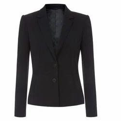 Black Unifab Corporate Women Blazer