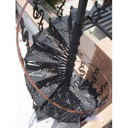 SG Cast Iron Stair Case