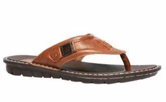 2fe5092cb3f8 Bata Brown Chappals For Men F871425900, Size: 6, Rs 499 /piece | ID ...