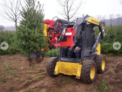 Tree Spade for Skid Steer Loader